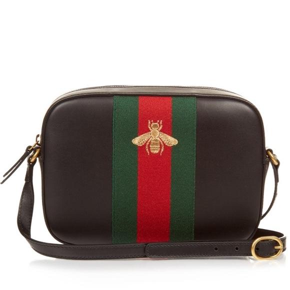 "3aff22ef5a0 Gucci Handbags - 🐝 Gucci ""Webby"" Bee Crossbody 💯 Authentic"